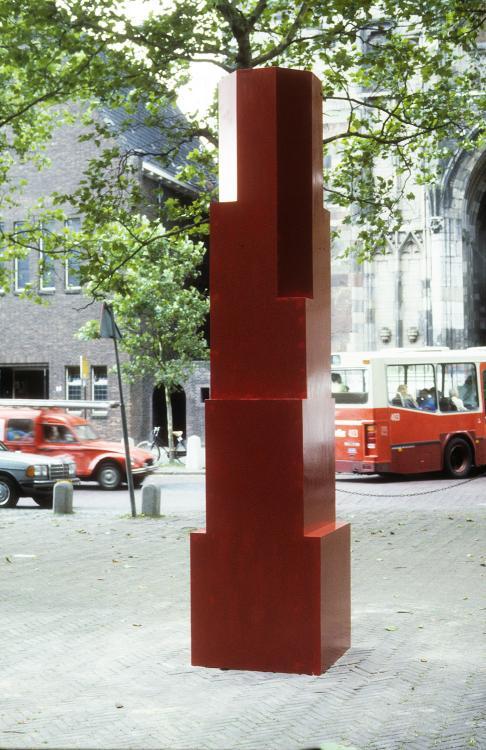 1st Prizewinner (Kunst Buiten), Utrecht, NL.  by Norman Dilworth